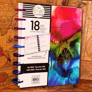 "The Happy Planner ""Ink Splash"" Classic 18 month"